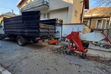 Evacuare material lemnos
